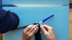 Cómo hacer un bolso con solapa de Trapillo. Parte 1 on Vimeo