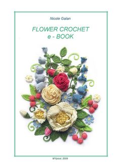 Crochet Flower book - all pages are free!