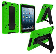 myLife Lime Green + Black Shockproof Survivor (With Built In Kickstand) Durable Case for Apple iPad Mini Touch Tablet myLife Brand Products http://www.amazon.com/dp/B00HQQD3V4/ref=cm_sw_r_pi_dp_gk.Xub1E48483