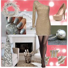 The Absolutely PERFECT Holiday or New Years Outfit!!! Soooo in Love with This!!! <3