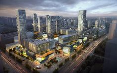 FUZHOU residential and commercial complex |China on Behance