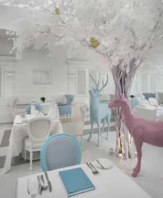 #pastels #interior #design #commercial
