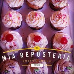 Cupcakes con cereza