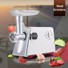 LV688 220V/50Hz  Electric Multifunction Family Meat Grinder Meat and Vegetable Cutter Sliced Grilled Meat Grinder  600-1000W