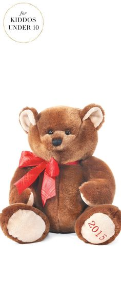 Gifts For Kids Under 10 | LivingQuarters Boys & Girls Club Plush Bear | Very Merry Gift Guide