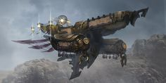 Airship by KEKSE0719 on deviantART