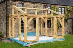 Oak Timber Framed Conservatory - Hector and Cedric Lean To Conservatory, Conservatory Extension, Cottage Extension, Garden Room Extensions, House Extensions, Loft Design, House Design, Design Design, Orangerie Extension