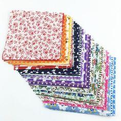 30 Piece Lot Patchwork Fabric