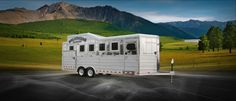Bloomer Trailers is the world's leading manufacturer of custom and state-of-the-art horse trailers. The proof is their brand loyal customer Horse Trailers, Recreational Vehicles, Horses, Cars, World, Bloomer, The World, Camper Van, Autos