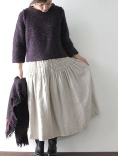 irish hand-knit sweater
