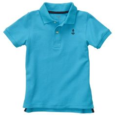 Short-Sleeve Polo Shirt | Toddler Boy Easter Shop