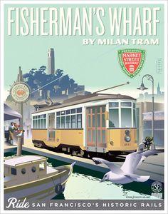 San Francisco, California - Tram No. 1811