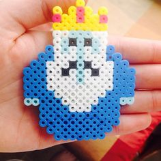 Ice King - Adventure Time perler beads by shawwsamm