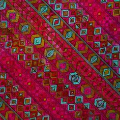boho : summer nights diamond fabric by scrummy on Spoonflower - custom fabric