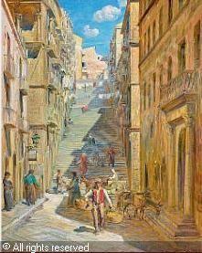 La Girgenti del pittore danese BUDTZ MØLLER Carl, 1882-1953