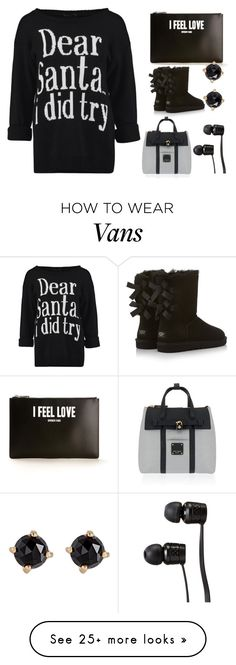 """""""Contest Entry 1/2"""" by marvaiman on Polyvore featuring Givenchy, UGG Australia, Irene Neuwirth, Henri Bendel, Vans and sugarplumsfallwalk"""
