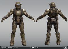 ArtStation - Halo 5 - MP Armors, Kyle Hefley