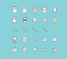 デザイナーのためのフリーアイコンセット20種「20 Free Icon Sets for Designers」