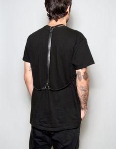Men's Simple Leather Harness by JAKIMACSHOP on Etsy, $110.00