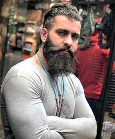 Beard Suit, Beard Head, Sexy Beard, Great Beards, Awesome Beards, Moustaches, Beard Images, Sexy Tattooed Men, Long Beard Styles