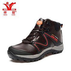 59.10$  Buy here - http://alivqx.worldwells.pw/go.php?t=32651032452 - Trail gtx outdoor tourism sneakers Men Hiking Boots Genuine Leather Waterproof Sport trainers Mountain Shoe brown Climbing Boots
