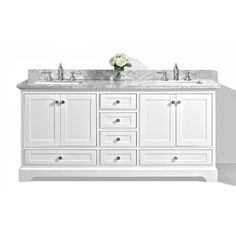 "You'll love the Florence 60"" Double Bathroom Vanity Set at Wayfair - Great Deals on all Home Improvement  products with Free Shipping on most stuff, even the big stuff."