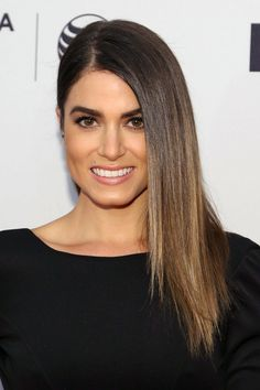 Sleek and sultry was the theme for Nikki Reed's beauty look at the In Your Eyes premiere during the Tribeca Film Festival.