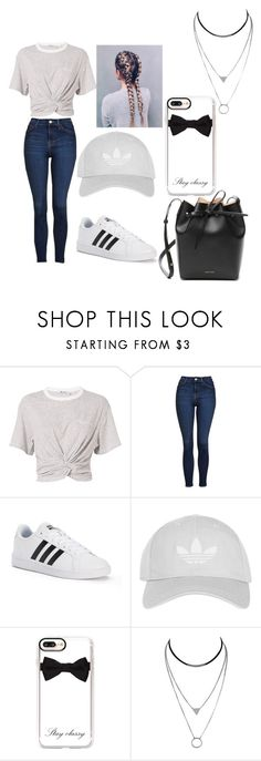 """Love it"" by nylaalvarez on Polyvore featuring T By Alexander Wang, Topshop, adidas, Casetify and Mansur Gavriel"