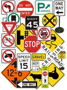 """Personalized """"official"""" Traffic signs"""