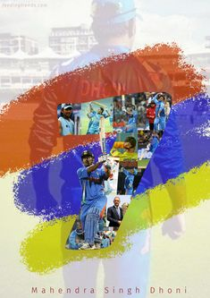 A poster designed for the birthday of our MS Dhoni aka Mahi Best Wallpaper For Mobile, Dhoni Quotes, Ms Dhoni Wallpapers, 480x800 Wallpaper, Ms Dhoni Photos, Cricket Wallpapers, Army Wallpaper, July 7, Mahi Mahi