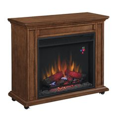 Classic Flame Portable Infrared Mantel