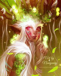 "regram @numyumy Forest Spirit done! I think I've repeated this drawing 3 times? I don't know maybe 4 :___D I hope you like my effort haha  Next ""no face""? -- http://ift.tt/1Og7Q2C -- #digitalart #fantasy #forestspirit #fanart #ghibli #art #artist #manga #anime #mangastyle #girls #girl #elf #fantasy #nature #mononoke #princess #love #patreon #drawing #illustration #instart #melancholy"