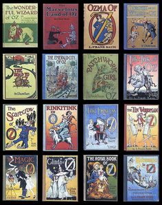 Oz Books by L. Frank Baum ~ another world, no real adults, found me in my elementary school library