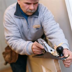 Learn how to fix a door that sticks with step-by-step instructions from TOH TV general contractor Tom Silva. | Photo: Craig Raine | thisoldhouse.com