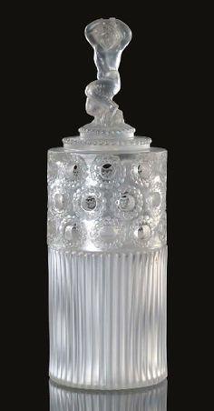 Faune perfume burner by Rene Lalique, ca.1930.