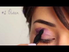 Vidéo tuto yeux Smoky Stories In Mauve Again Bourjois #smokystories #violet