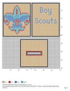 Boy Scouts Tissue Box Cover