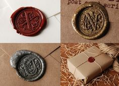 Sealing wax A to Z Alphabet Alphabet Stamp head on Etsy, $5.35 CAD My dream!! Love these seals!!