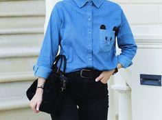 Shirt Denim Cat - Pepaloves