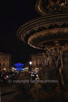 La Madeleine Church  Paris at Night by GorgeousPhotos on Etsy, $30.00