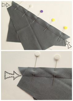 Sewing bias seams correctly