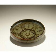 Bowl  MAKER: Ladi Kwali, 1925-1984, Nigeria MEDIUM: Glazed ceramic DIMENSIONS: H x W x D: 8.4 x 33.8 x 33.8cm (3 5/16 x 13 5/16 x 13 5/16in.) TYPE: Container GEOGRAPHY: Abuja, Nigeria DATE: Mid-late 20th century