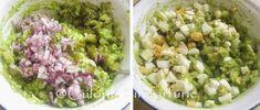 » Barcute din ardei cu salata de avocadoCulorile din Farfurie Guacamole, Avocado, Mexican, Ethnic Recipes, Food, Salads, Lawyer, Essen, Meals