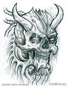 Evil Skulls | Evil Skull Graphics Code | Evil Skull Comments & Pictures