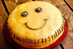 Smile lemon cake by Kasandra Jurek Yellow Fruit, Blueberry Jam, Let Them Eat Cake, Whipped Cream, Lemon, Baking, Day, Smile, Desserts