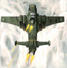 WH40k: Marauder Bomber Ambush by BiGFooT-y2k on deviantART
