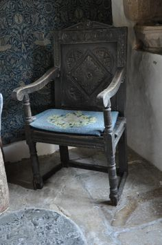 https://flic.kr/p/awEYPU | Kelmscott St George Chair chancel http://www.bwthornton.co.uk/visiting-stratford-upon-avon.php