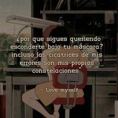 Frases Bts, Bts Qoutes, L Love You, I Love Bts, Motivation Psychology, Bts Lyric, Me Too Lyrics, Simple Quotes, Im Sad