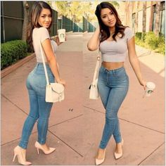 FASHION NOVA High waisted skinny jeans BNWT, never worn. Size 3 - Waist: 26 in, Hips: 36 in Fashion nova Jeans Skinny Look Fashion, Fashion Outfits, Womens Fashion, Fashion Trends, Jeans Fashion, Girl Fashion, Skinny Fashion, Blue Fashion, 50 Fashion