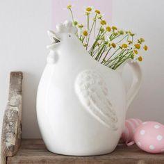 Gisela Graham Ceramic Chicken Jug